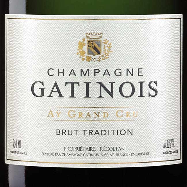 Brut Tradition : Champagne Gatinois Aÿ Grand Cru